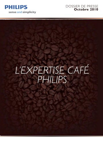 Philips, l'expertise du café