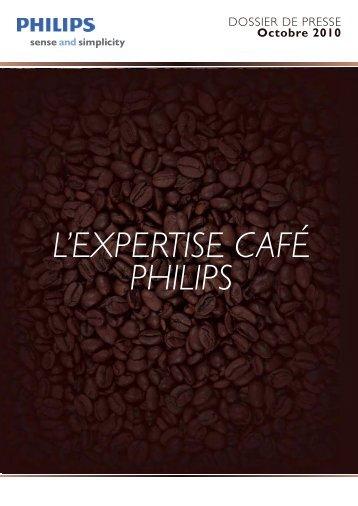 Philips, l'expertise du café