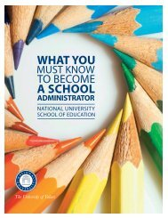 What you must know to become and Ed Admin Booklet - National ...
