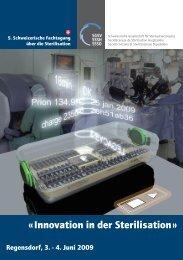 « Innovation in der Sterilisation »