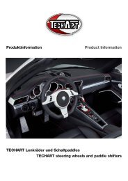 Sport steering wheel Type 1 - techart