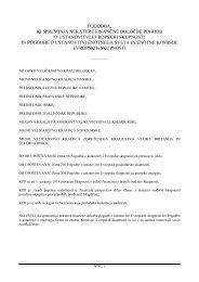 pogodba, ki spreminja nekatere finančne določbe pogodb o ...