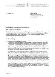 Grundlagen für Leistungs- und Honorarofferten ... - Kanton St. Gallen