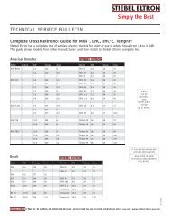 Complete Cross Reference Guide for Mini ™ , DHC ... - Stiebel Eltron