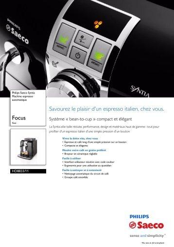 HD8833/11 Philips Machine espresso automatique