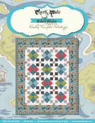 Pirate Matey's Free Project Sheet - Riley Blake Designs