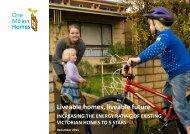 Liveable homes, liveable future.pdf - Environment Victoria