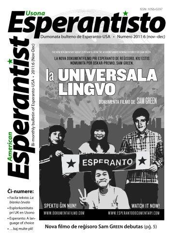 Usona merica n - Usona Esperantisto - Esperanto-USA