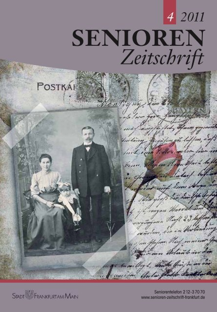 Zeitschrift SENIOREN - Senioren Zeitschrift Frankfurt