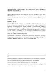 elaboración indicadores de evolución del consumo eléctrico ... - AEEE
