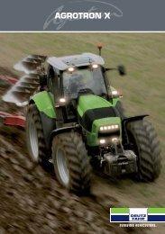 Trattori Deutz Fahr Agrotron X - Attrezzature Agricole