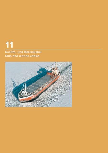 Schiffs- und Marinekabel Ship and marine cables - TKD-KABEL ...