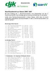 Abschlussbericht zur Saison 2006/2007 als pdf-Datei