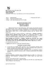 nástavba, přístavba a stavební úpravy RD č.p ... - Horní Počernice