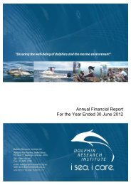 DRI Annual Report EOY 2012 (pdf 1.1mb) - Dolphin Research ...
