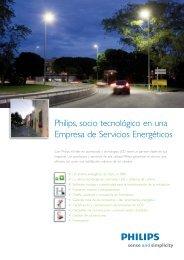 Philips, socio tecnológico en una Empresa de ... - Philips Lighting