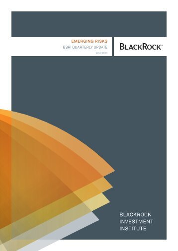 Emerging markets or emerging risks? - BlackRock