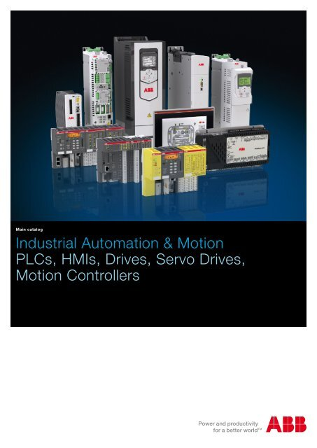 Industrial automation PLC, control panels, SCADA     - Abb