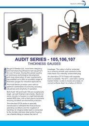 Audit thickness gauges - Alpine Components