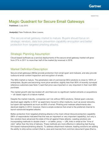 magic quadrant for secure email gateways 2015 pdf