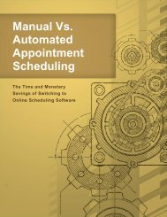 Manual Vs. Automated Appointment Scheduling - Appointment-Plus