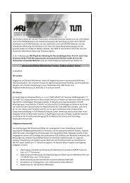 Doktoranden/-innen - NeuroKopfZentrum - TUM