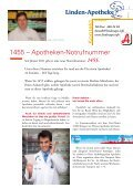 Frühjahr 2011 - Linden-Apotheke - Seite 3