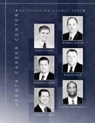 2007 Outstanding Alumni - Penta Career Center
