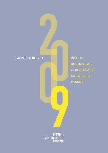 rapport d'activité 2009 - WWW Ircam