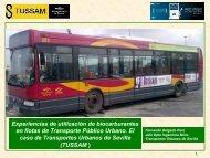 Experiencias de utilización de biocarburantes en flotas de ...