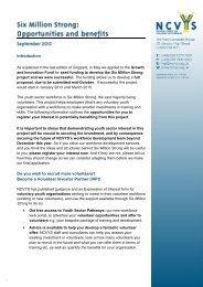 NCVYS Six Million Strong expression of interest form [PDF] - G:up