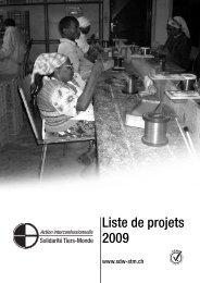 44 Projets en l'an 2009