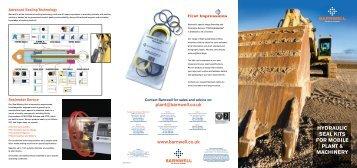 Hydraulic Seal Kit Catalog (PDF) - M Barnwell Services Ltd