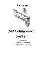 Das Common-Rail System - Neue Seite 1