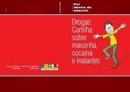 Cartilha Sobre Maconha Cocaina e Inalantes - CAPA.indd