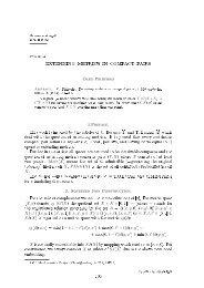 EXTENDING METRICS IN COMPACT PAIRS - Matematychni Studii
