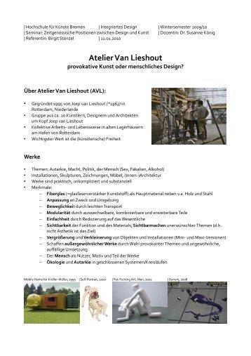 AVL Handout - Birgit Stenzel