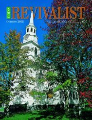 Download the October Issue - God's Bible School & College