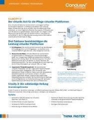 V-LOCITY 3® Der virtuelle Arzt für die Pflege virtueller Plattformen ...