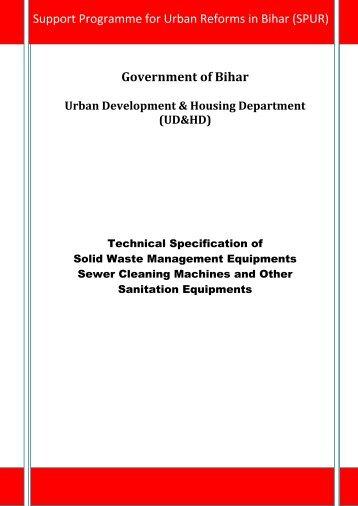 Government of Bihar - Urban Development Department