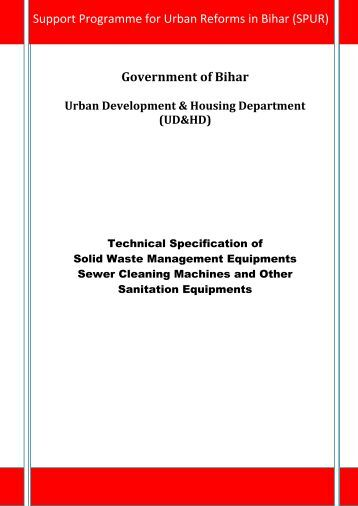 Government of Bihar - Urban Development Department