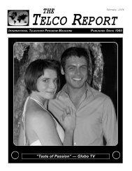 """Taste of Passion"" — Globo TV - The Telco Report"