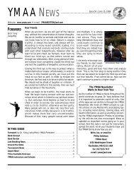 YMAA News #50, June 1999