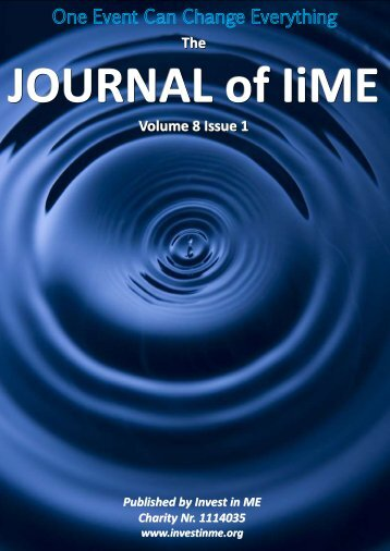 Journal of IiME Vol 8 Issue 1