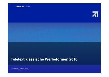 Teletext (PDF) - SevenOne AdFactory