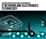 STUDY lT NETWORK AND ELECTRONlCS TECHNOLOGY - KEA