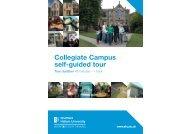 Collegiate Campus self-guided tour - Sheffield Hallam University