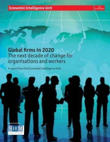 Global firms in 2020 - Society for Human Resource Management