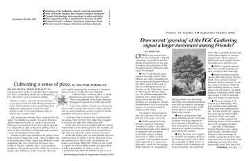 to download the PDF version of this issue. - Quaker Earthcare Witness