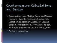 Countermeasure Calculations and Design